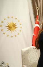 LINDSAY LOHAN Visits President and First Lady of Turkey 01/28/2017