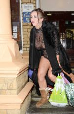 LISA APPLETON at a Train Station in Warrington 01/09/2017