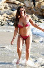 LISA APPLETON in Bikini at a Beach in Spain 01/11/2017