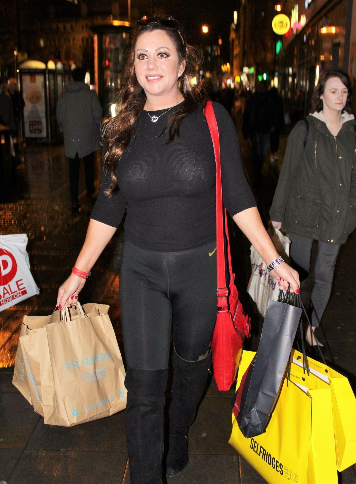 LISA APPLETON Out and About in Manchester 01/09/2017