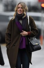 LISA CARRICK Arrives at Old Trafford in Manchester 01/15/2017