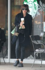 LISA RINNA Out for Coffee in Beverly Hills 01/04/2017