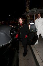 LISA VANDERPUMP Out for Dinner in Los Angeles 12/30/2016