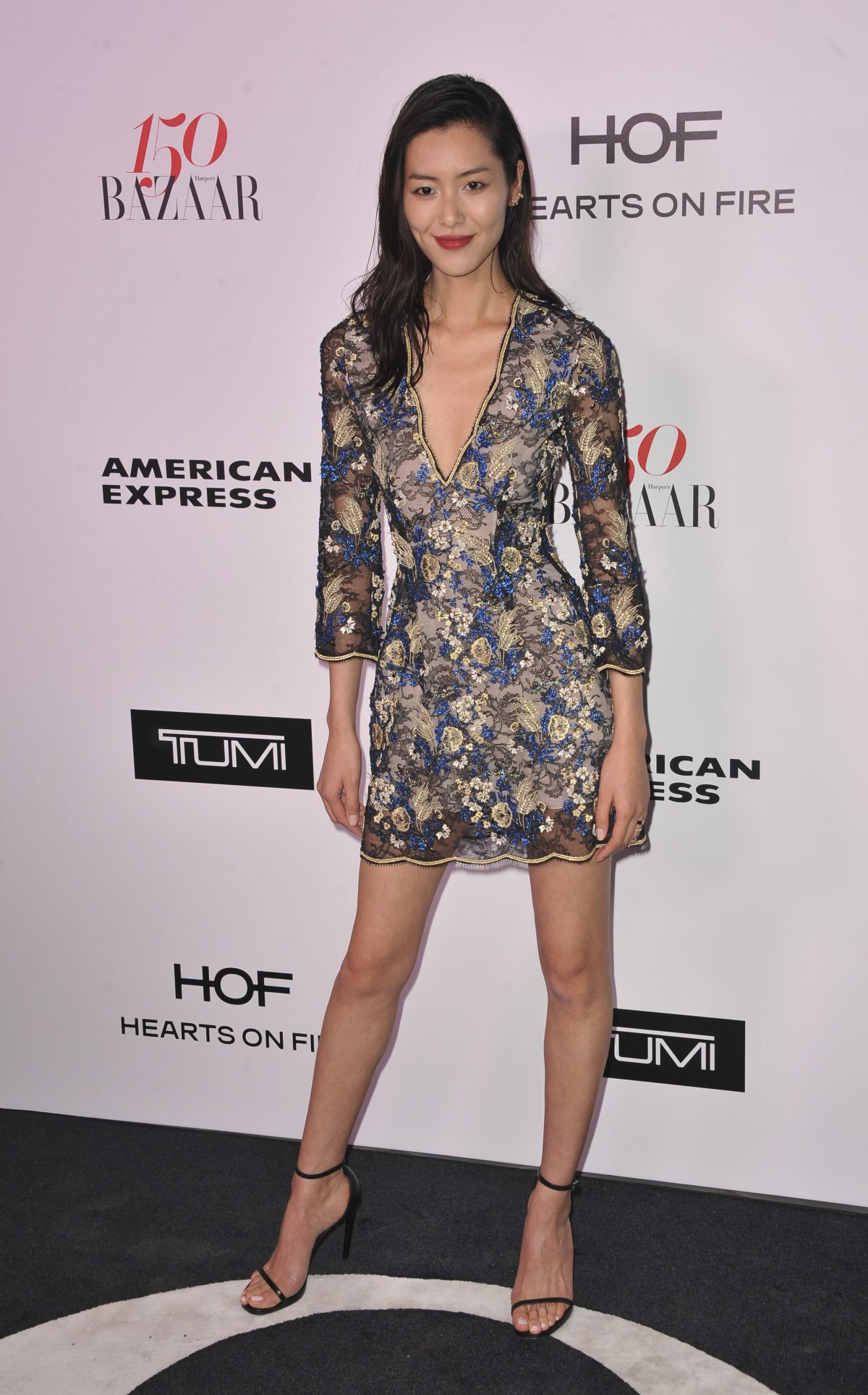 LIU WEN at Harper's Bazaar 150 Most Fashionable Women Party in Hollywood 01/27/2017