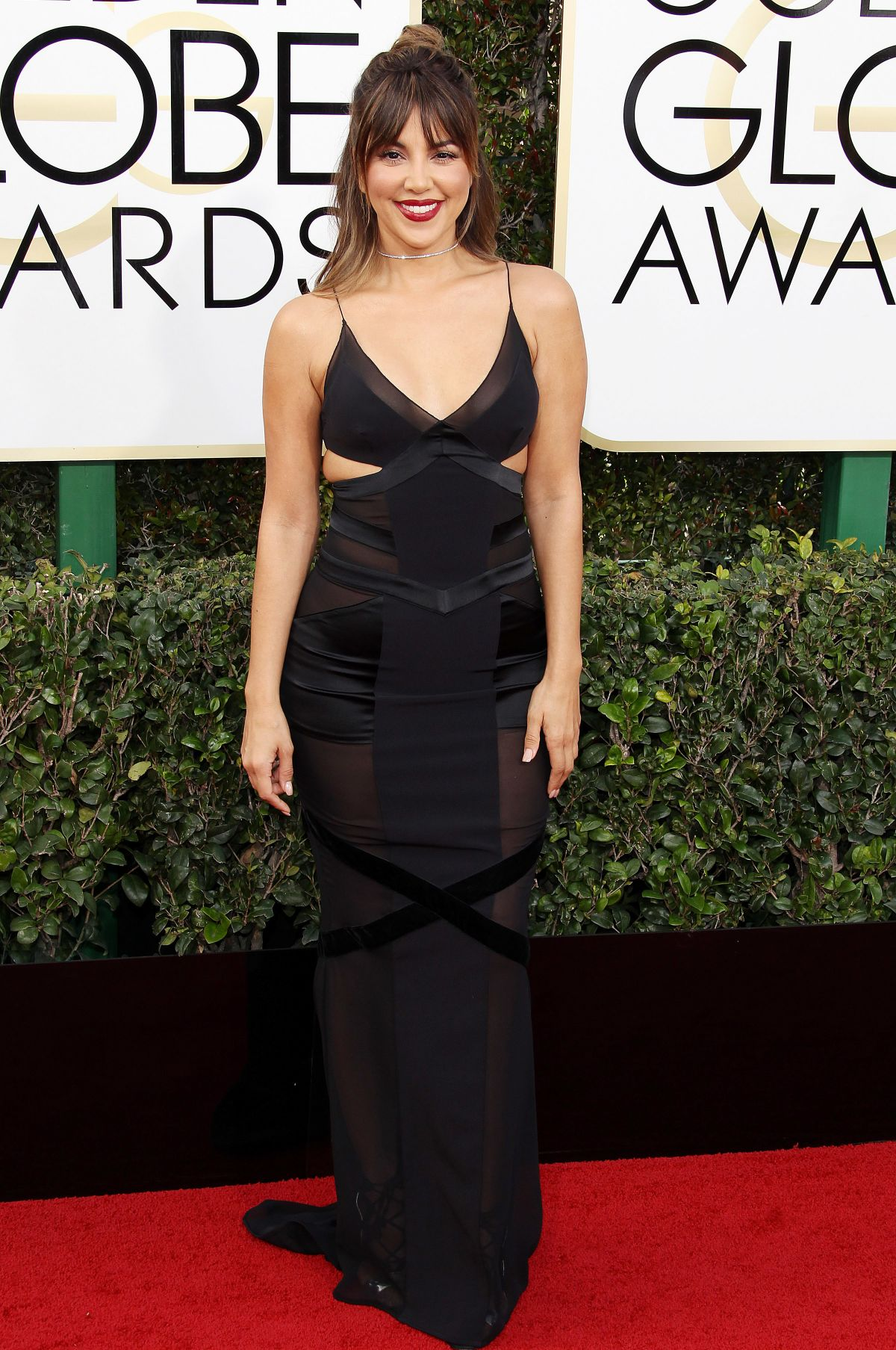 LIZ HERNANDEZ at 74th Annual Golden Globe Awards in Beverly Hills 01/08/2017