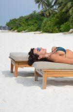 LIZZIE CUNDY at Sun Siyam Iru Fushi Hotel in Maldives 01/02/2017