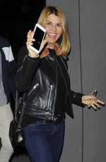 LORI LOUGHLIN Out for Dinner in West Hollywood 01/01/2017