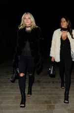 LOTTIE MOSS and EMILY BLACKWELL Out for Dinner in Chelsea 01/18/2017