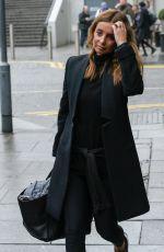 LOUISE REDKNAPP Leaves Her Hotel in Brimingham 01/17/2017