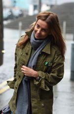LOUISE REDKNAPP Leaves Her Hotel in Brimingham 01/19/2017