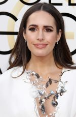 LOUISE ROE at 74th Annual Golden Globe Awards in Beverly Hills 01/08/2017