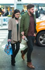 LUCY HALE and Anthony Kalabretta Out in New York 01/19/2017