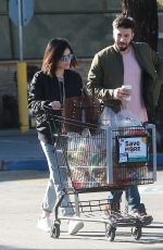 LUCY HALE and Anthony Kalabretta Out Shopping in Studio City 01/13/2017