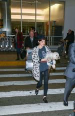 LUCY HALE Arrives at LAX Airport in Los Angeles 01/01/2017