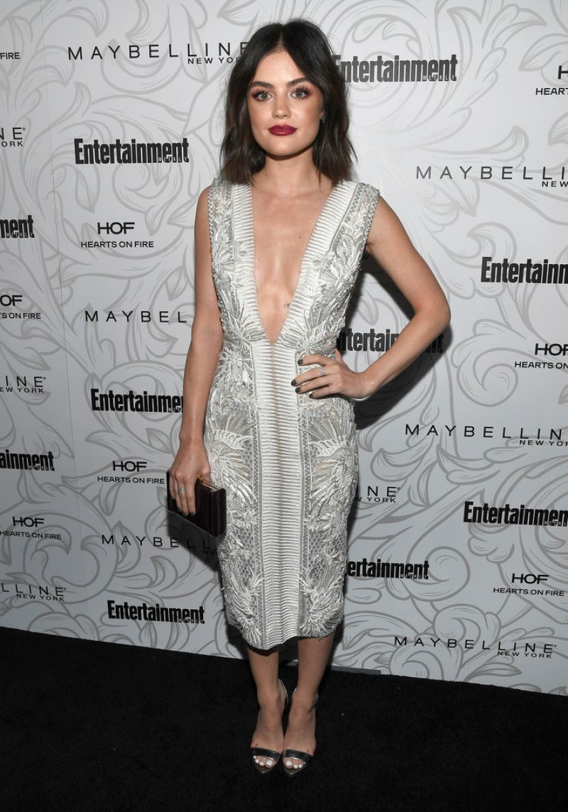 LUCY HALE at Entertainment Weekly Celebration of SAG Award Nominees in Los Angeles 01/28/2017