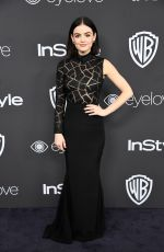 LUCY HALE at Warner Bros. Pictures & Instyle's 18th Annual Golden Globes Party in Beverly Hills 01/08/2017