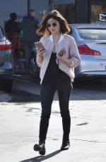 LUCY HALE Out and About in Studio City 01/11/2017