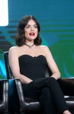 LUCY HALE, SHAY MITCHELL and SASHA PIETERSE at Disney/ABC 2017 Winter TCA Tour in Pasadena 01/10/2017