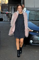 LUCY JO HUDSON at ITV Studios in London 01/03/2017