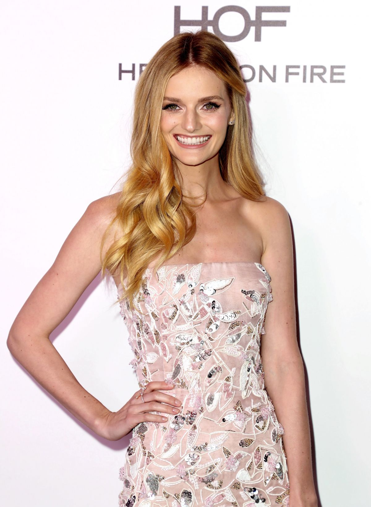 LYDIA HEARST at Harper's Bazaar 150 Most Fashionable Women Party in Hollywood 01/27/2017