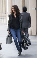 LYNDA LOPEZ Out and About in New York 01/12/2017