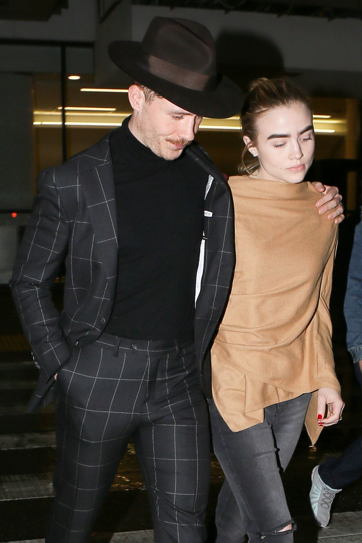MADDIE HASSON at Los Angeles International Airport 01/22/2017