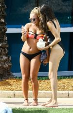 MADISON BEER in Swimsuit at a Pool in Miami 01/03/2017