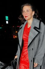 MAGGIE GYLLENHAAL Arrives at a Stella McCartney Event in New York 01/10/2017