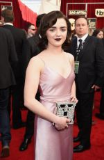 MAISIE WILLIAMS at 23rd Annual Screen Actors Guild Awards in Los Angeles 01/29/2017