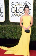 MAISIE WILLIAMS at 74th Annual Golden Globe Awards in Beverly Hills 01/08/2017