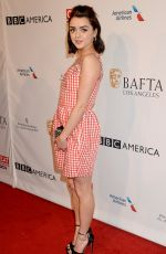 MAISIE WILLIAMS at Bafta Tea Party in Los Angeles 01/07/2017