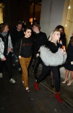 MAISIE WILLIAMS at Louis Vuitton X Unicef Makeapromise Day in London 01/12/2017