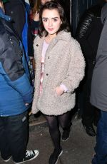 MAISIE WILLIAMS at Nest Magazine Launch Party in London 01/19/2017
