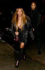 MALIKA HAQQ Night Out in West Hollywood 01/10/2017
