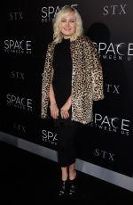 MALIN AKERMAN at 'The Space Between Us' Premiere in Los Angeles 01/17/2017