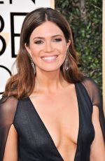 MANDY MOORE at 74th Annual Golden Globe Awards in Beverly Hills 01/08/2017