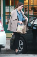 MANDY MOORE Out Shopping in Los Angeles 01/09/2017
