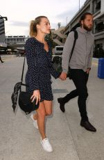 MARGOT ROBBIE at LAX Airport in Los Angeles 01/02/2017