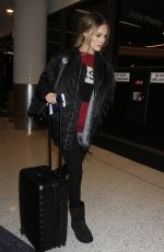 MARGOT ROBBIE at LAX Airport in Los Angeles 01/10/2017