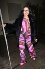 MARIA CONCHITA ALONSO at Delilah in West Hollywood 01/12/2017