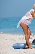MARIA HERING in Bikini at a Beach in Miami 01/25/2017