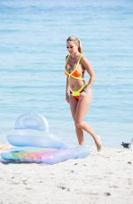 MARIA HERING in Bikini at a Beach in Miami 01/25/2017