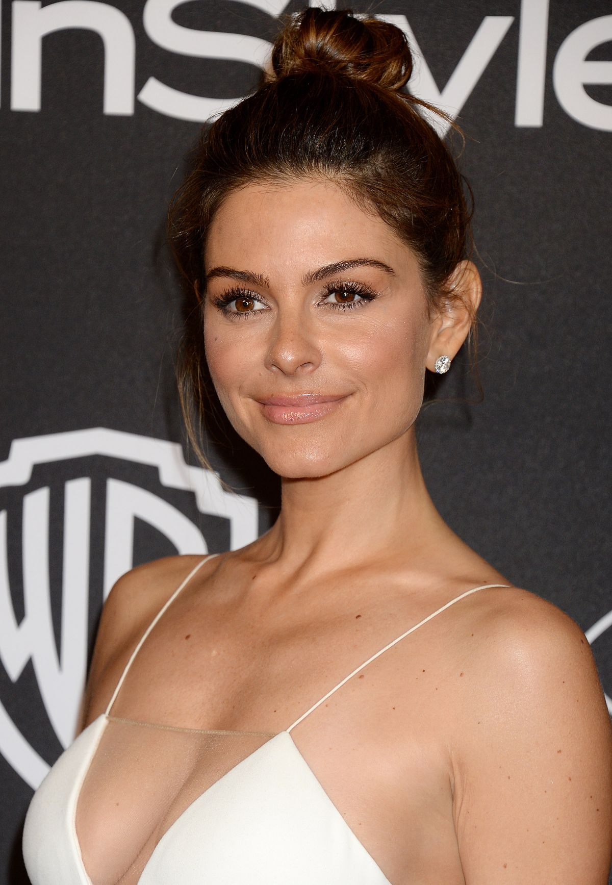 MARIA MENOUNOS at Warner Bros. Pictures & Instyle's 18th Annual Golden Globes Party in Beverly Hills 01/08/2017