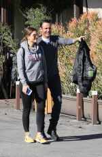 MARIA MENOUNOS Out and About in Los Angeles 01/14/2017