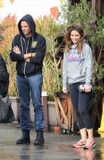 MARIA MENOUNOS Out for Lunch in Encino 01/07/2017