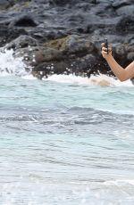 MARIA SHARAPOVA in Bikini at a Beach in Hawaii 01/02/2017