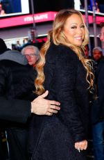 MARIAH CAREY at Times Square in New York 12/31/2016