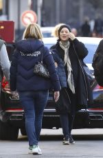 MARION COTILLARD Out for Lunch in Nice 01/12/2017