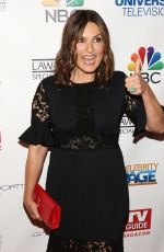 MARISKA HARGITAY at 400th Episode of Law & Order Special Victims Unit Celebration in New York 01/11/2017