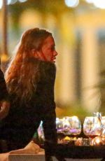 MARY-KATE and ASHLEY OLSEN Out for Dinner at Bagatelle Restaurant in St. Barth 01/05/2017
